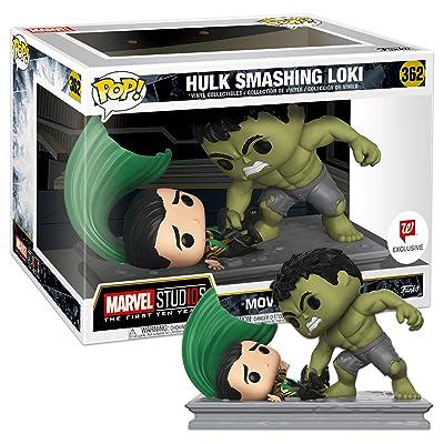 Funko Pop! Movie Moments Marvel Studios: Hulk Smashing Loki #362: Toys & Games [5Bkhe0502721]