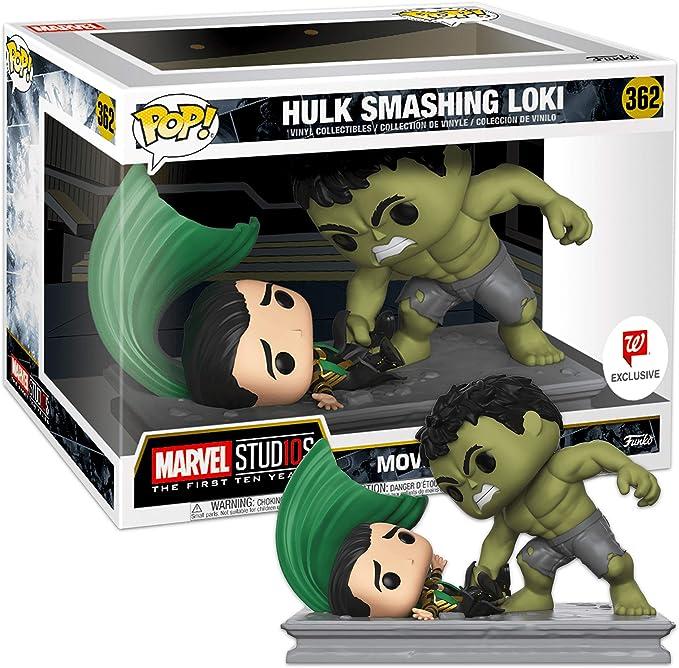 Funko - Marvel Movie Moments-Hulk Smashing Loki Figurina, Multicolor, 34883: Amazon.es: Juguetes y juegos