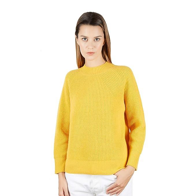 Pullover Pull 100Laine Cou Pour Du Femmes Brunella En Gori Ras Kl13TJFc