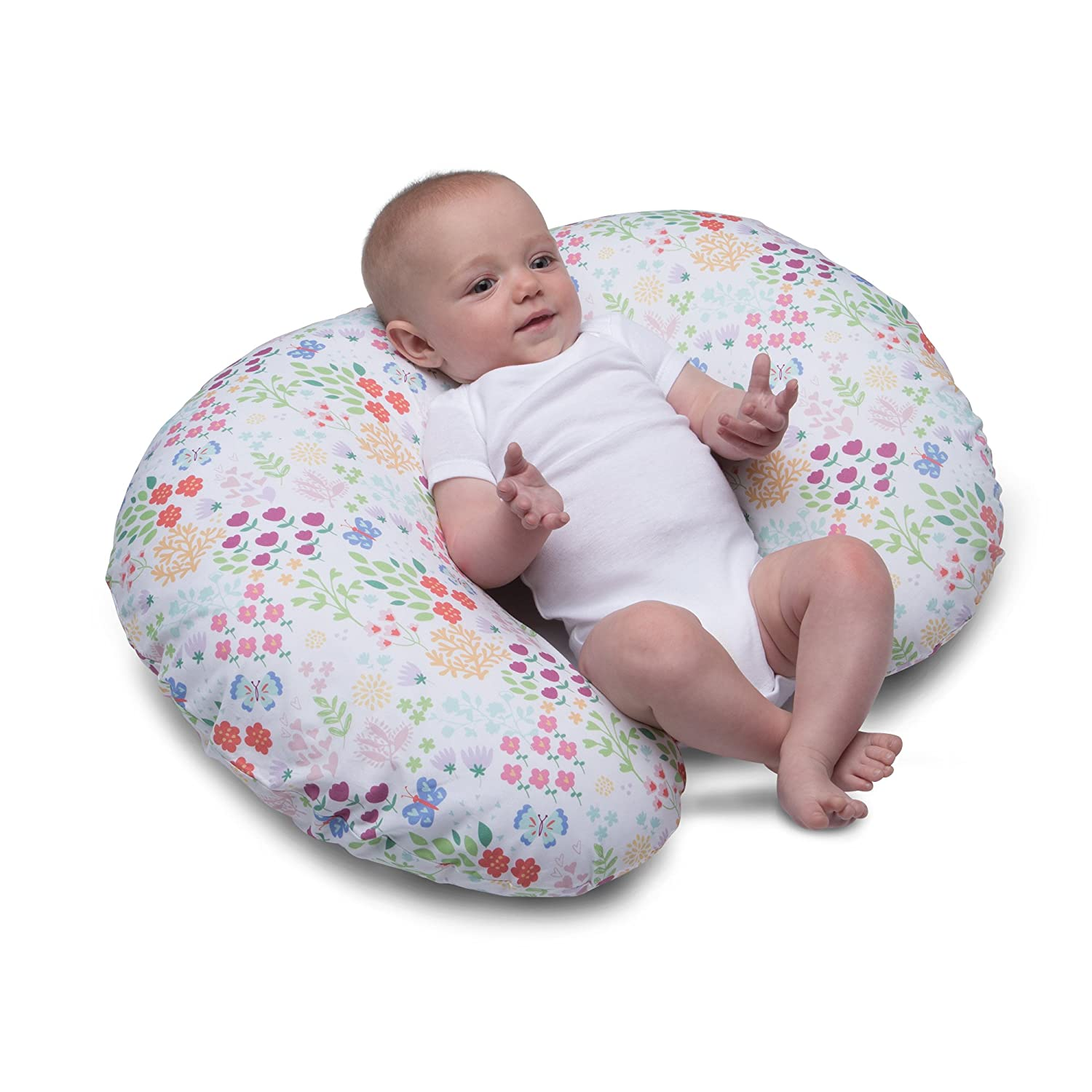 Garden Party Boppy Nursing Pillow and Positioner Pink