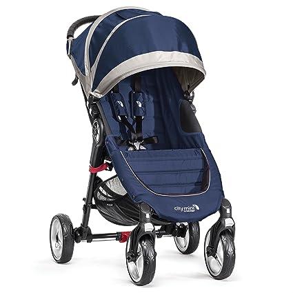 Baby Jogger City Mini 4 - Silla de paseo, color azulón/gris ...