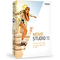 Vegas Movie Studio 15|Standard|1 Device|1 Year|PC|Disc