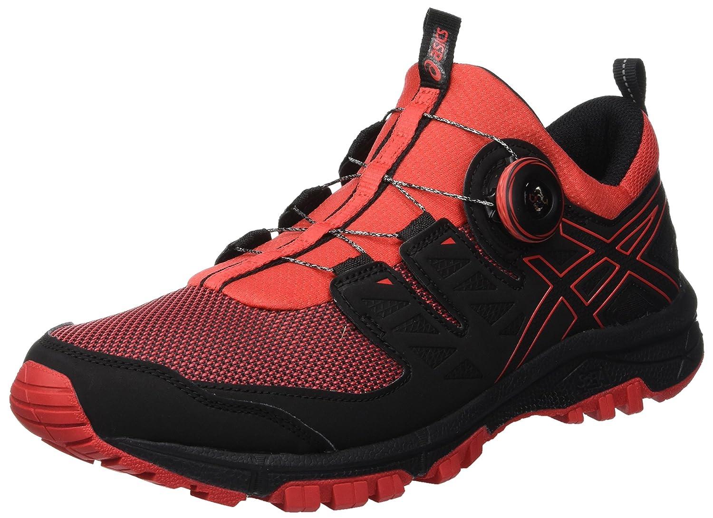 ASICS Gel-fujirado, Chaussures de Running Homme 40.5 EU|Multicolore (Red Alert/Blk Alert/Blk (Red 600) 514fb2