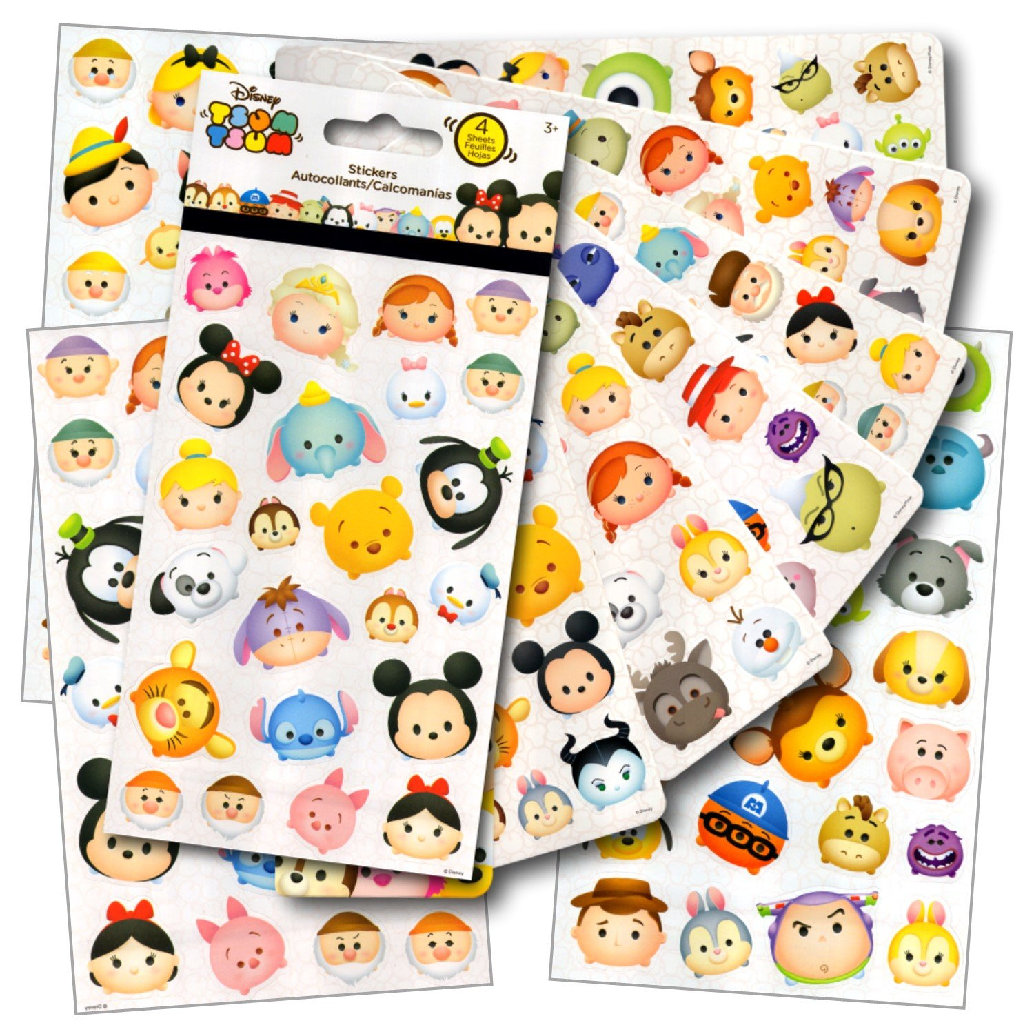 Disney Packing List item, stickers