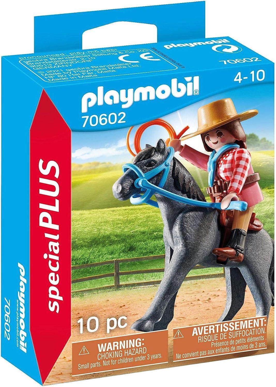 PLAYMOBIL Special Plus 70602 - Jineta del Oeste, a Partir de 4 años