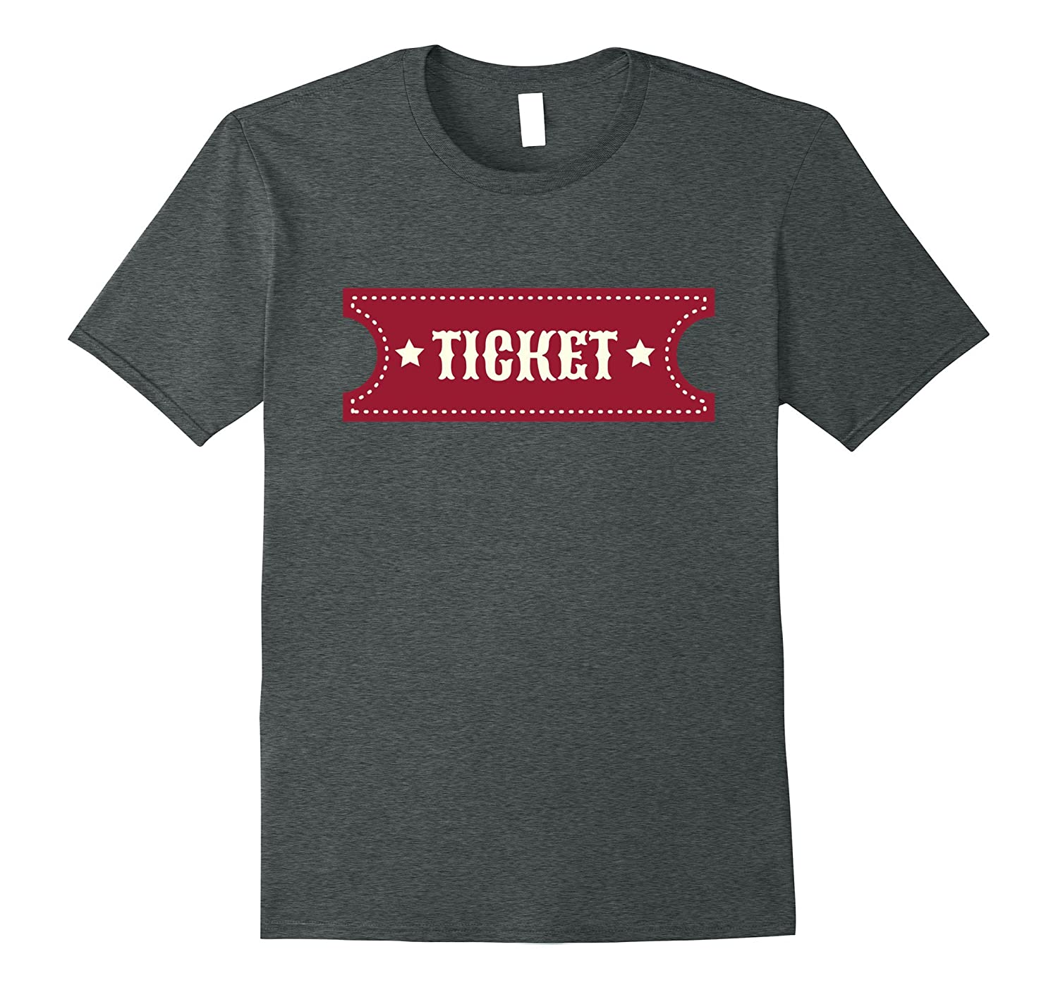 Carnival Circus Admission Ticket Shirt - Prizes Admit-Vaci