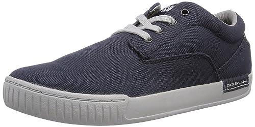 Cat Footwear ZIMZALA Canvas - Zapatilla Deportiva de Lona Hombre, Color Azul, Talla 40: Amazon.es: Zapatos y complementos