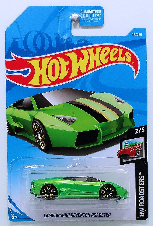 Hot Wheels HW Roadsters LAMBORGHINI Lamborghini Reventón Roadster 2//5 18//250