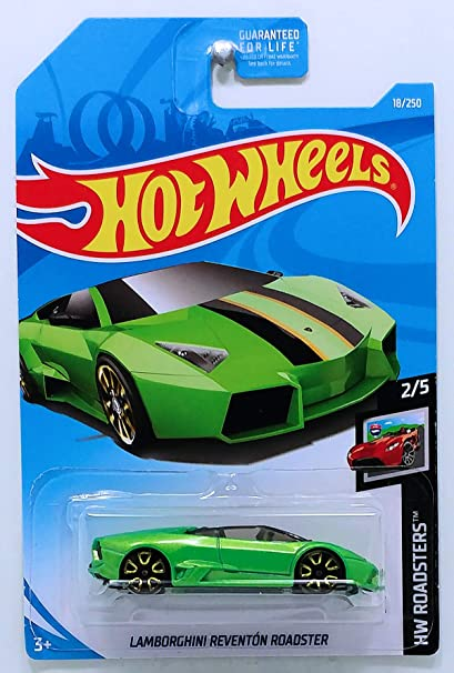 Amazon Com Hot Wheels 2019 Hw Roadsters Lamborghini Reventon