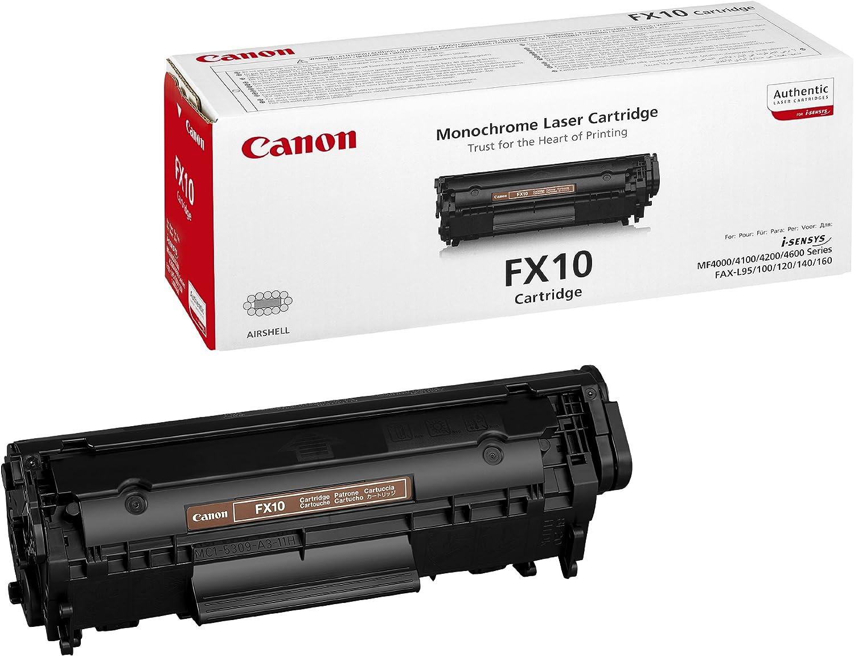 Canon Fx10 Tonerkartusche 1 Stück Schwarz Bürobedarf Schreibwaren