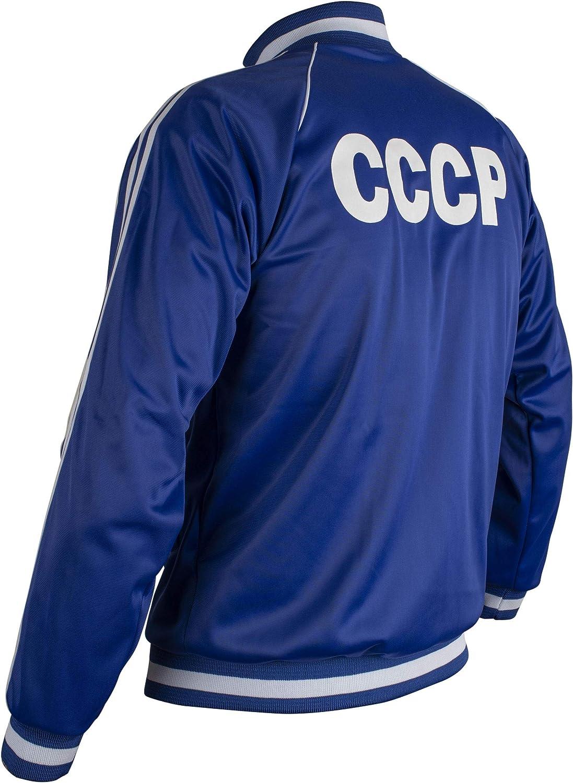 JL Sport Chaqueta De Unión Soviética URSS CCCP 1970 Retro del ...