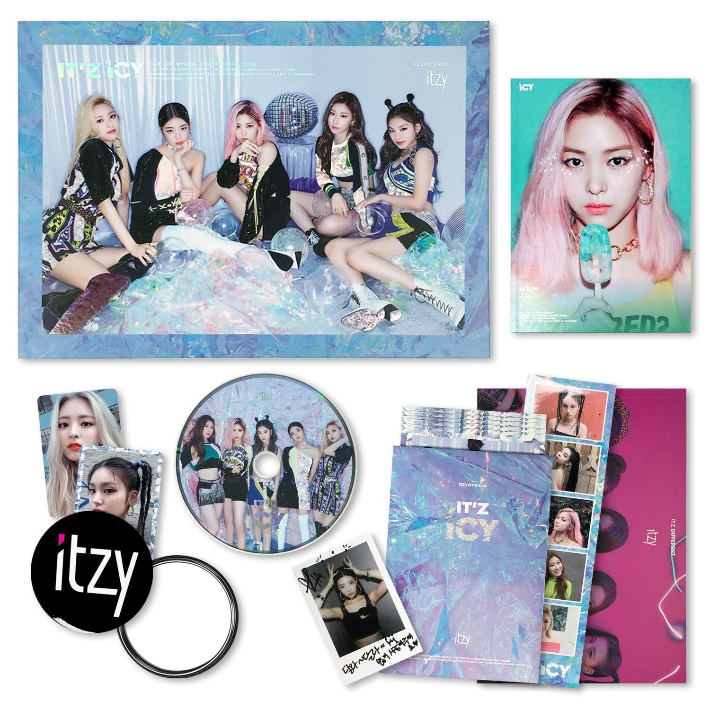 5 ITCY 1st Mini Album IT/'z ICY Yuna Type-2 Photo Card Official K-POP