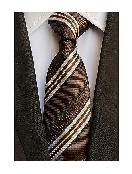 Krawaty i muchy Men's Tie –Blue White Dot Dodatki męskie Pure Silk--Formal-Brand New
