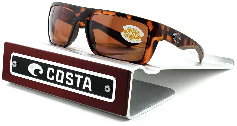 ff132b27c16 Costa Del Mar Motu 580P Matte Retro Tortoise Frame Copper Lens  (MTU66 OCP).  Amazon.co.uk  Clothing