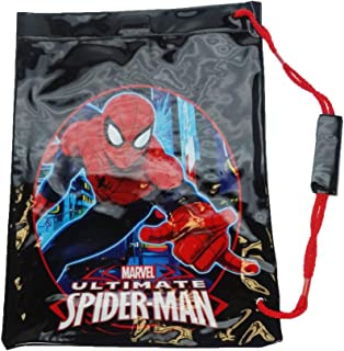 148a983814d3 Red Spiderman Drawstring Bag - Kids Drawstring Backpack: Amazon.co ...