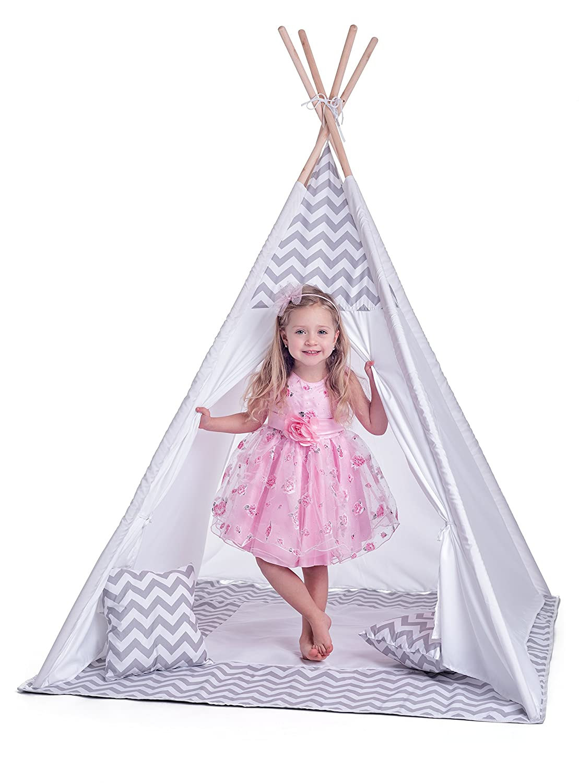 boisyland 102191420 pour Enfant Tent- Teepe Verlag, Blanc