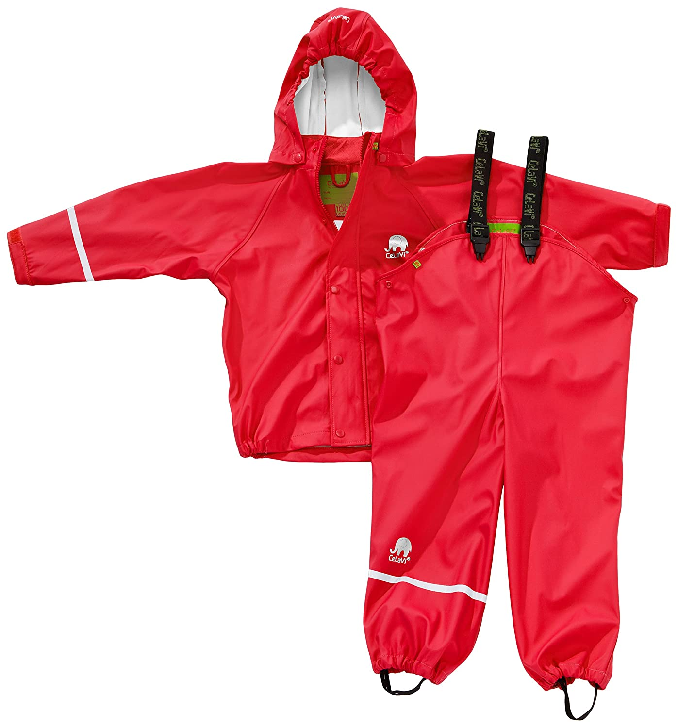 Celavi Unisex Basic Suit Solid Raincoat 1145
