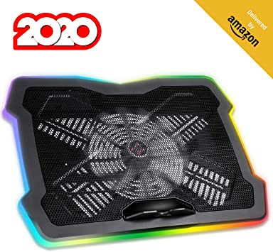 KLIM™ Ultimate + Base de refrigeración para portátiles RGB: Amazon ...