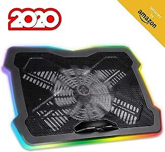 KLIM™ Ultimate + Base de refrigeración para portátiles RGB: Amazon.es: Electrónica