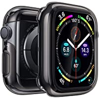 Penom Black Case for Apple Watch Screen Protector Series 5 Series 4 40mm, Ultra Thin iWatch 40mm Screen Protector with…