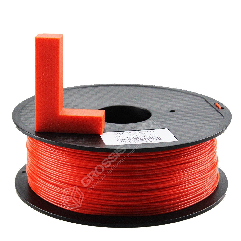 Filament 3D PLA FDM Imprimante 3D et Stylo 3D 1.75mm 1KG Rouge Grossiste 3D/®
