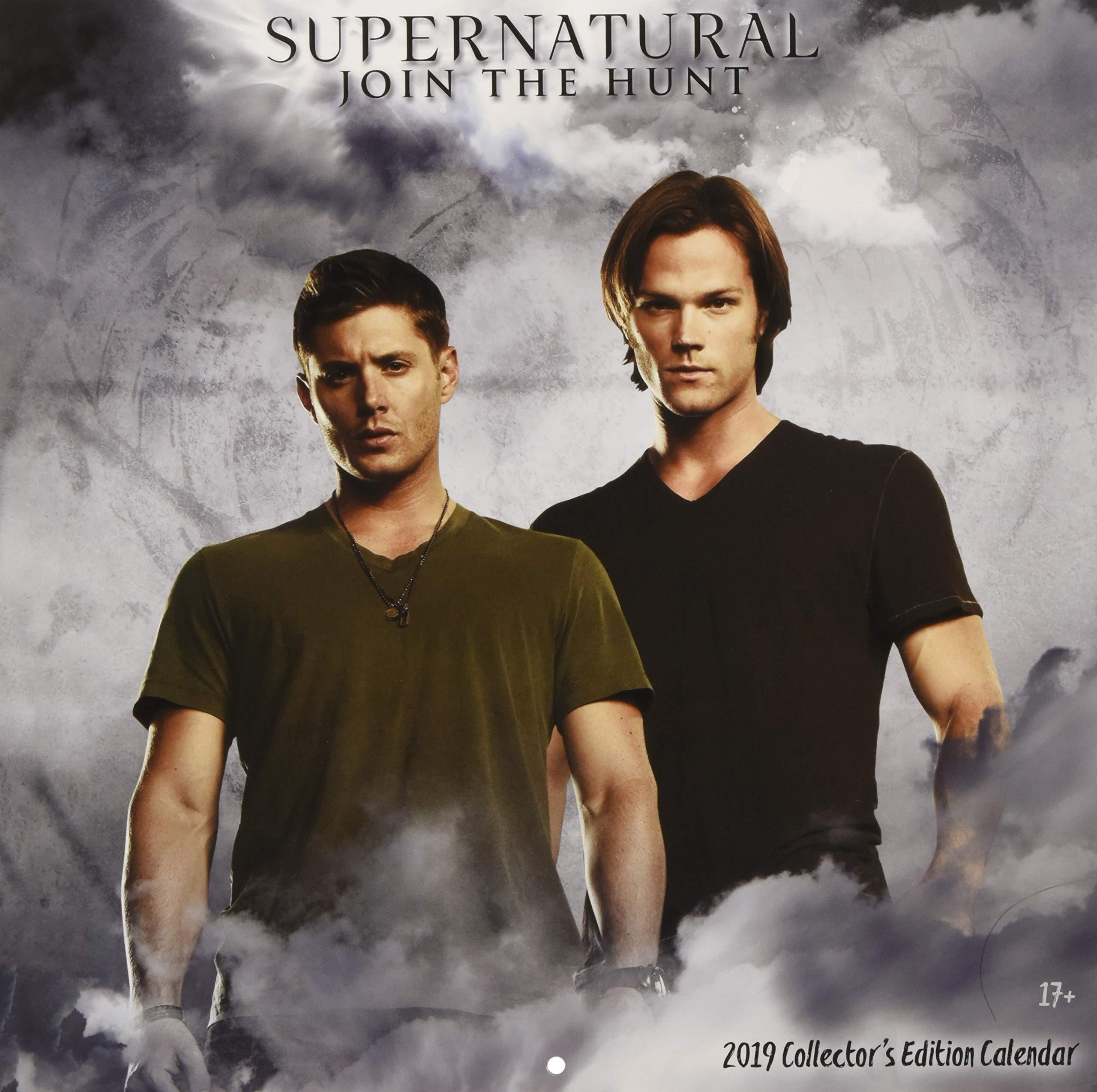 supernatural 2018 collectors edition calendar
