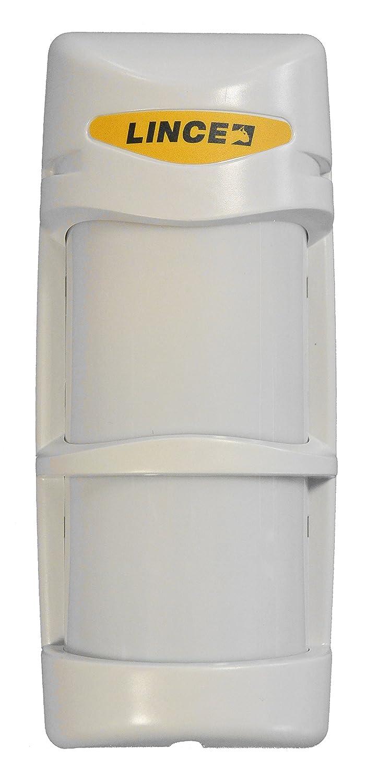 Lince 1673BOBBY Rilevatore Volumetrico da Esterno Via Filo Universale Bianco