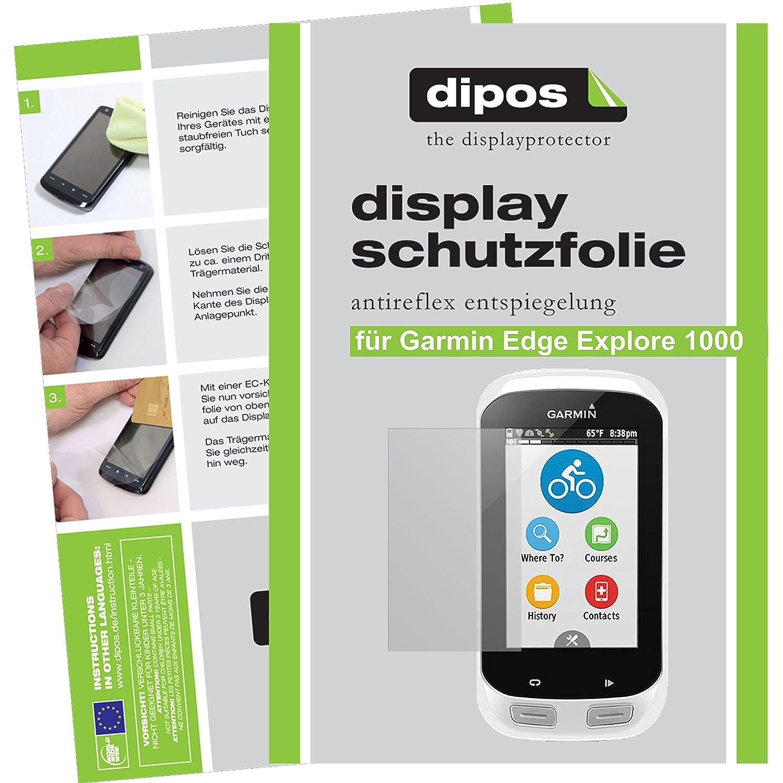 2x Garmin eTrex Touch 25 Schutzfolie matt Displayschutzfolie Folie dipos