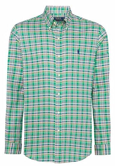 Polo Ralph Lauren - Camisa Casual - Cuadrados - para Hombre Verde ...