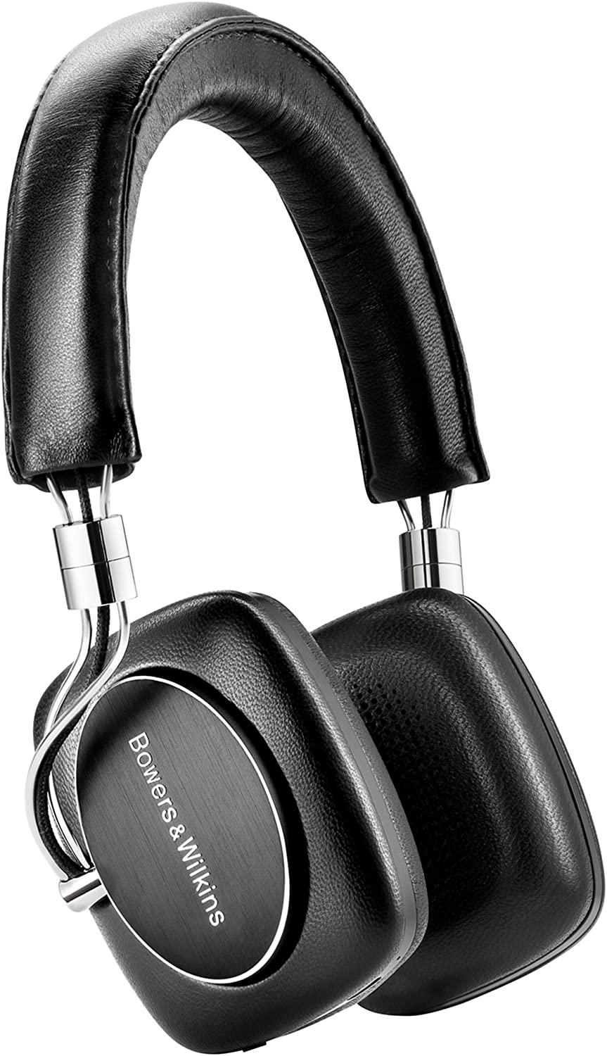 Bowers & Wilkins P5 Wireless Headphone RC, Black (Renewed)
