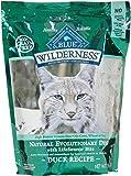 Blue Buffalo Wilderness Grain Free Dry Cat Food, Duck Recipe, 2-Pound Bag