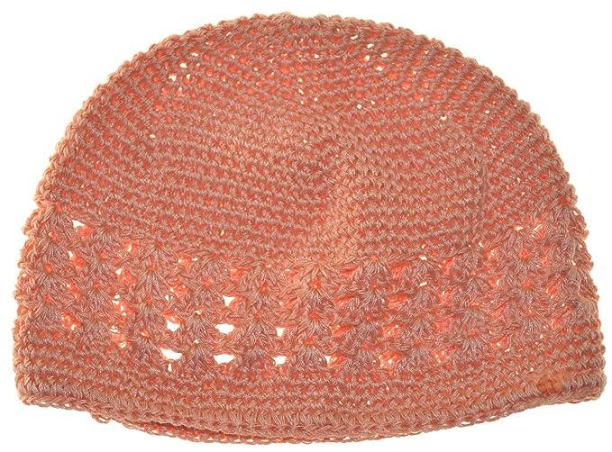 Mm Kufi Hat Crochet Cap Beanie Peach At Amazon Womens Clothing Store