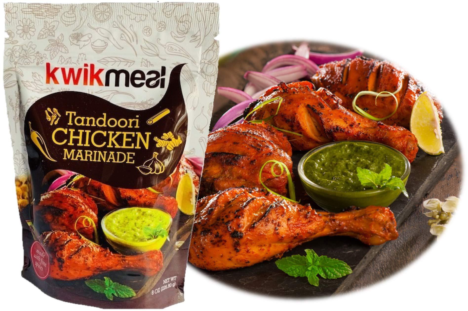 KwikMeal Tandoori Chicken Marinade - Pack of 12 - $37.06 - Unit Price $3.09