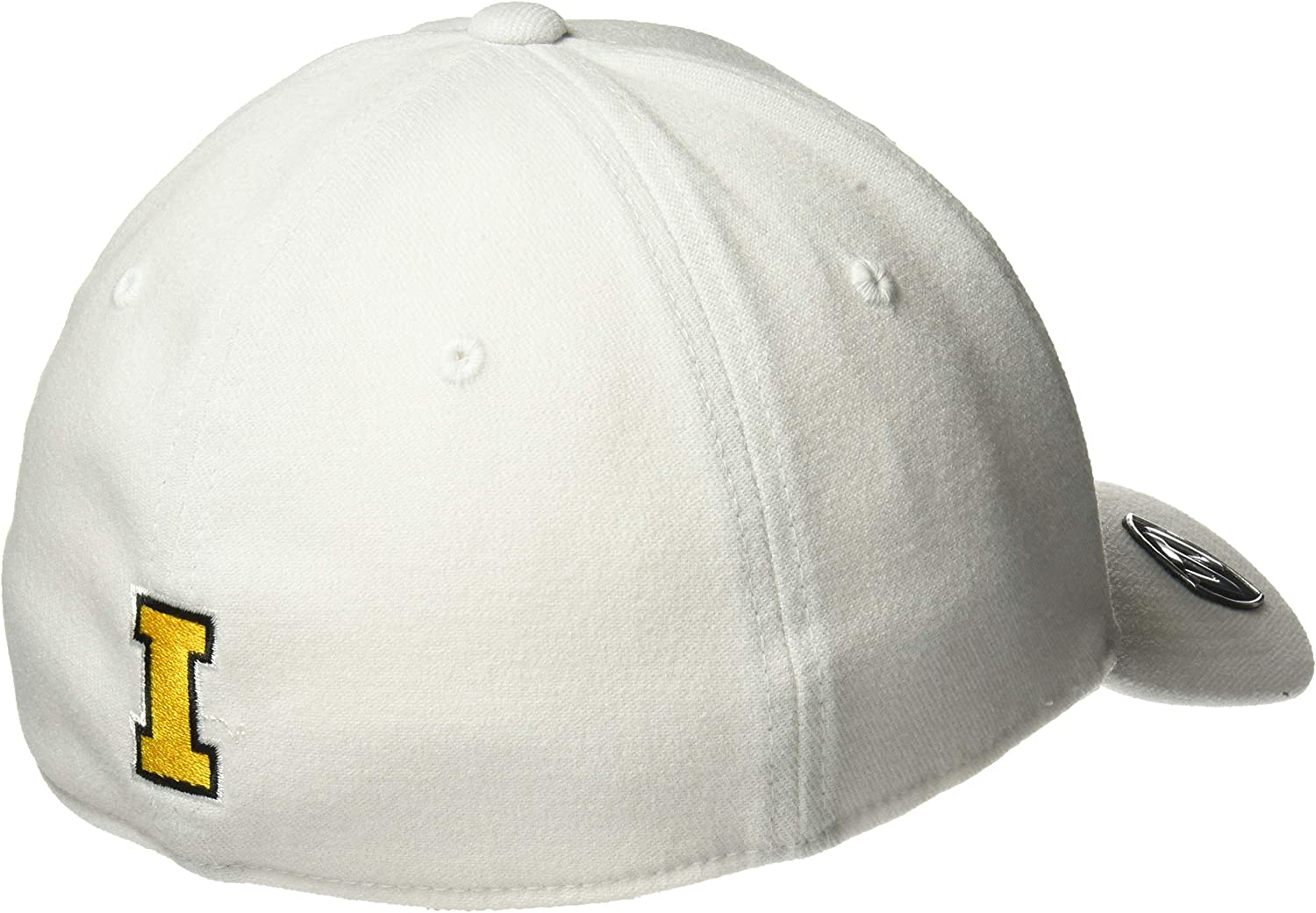 Top of the World Premium Collection One-Fit Memory Fit Hat White Icon