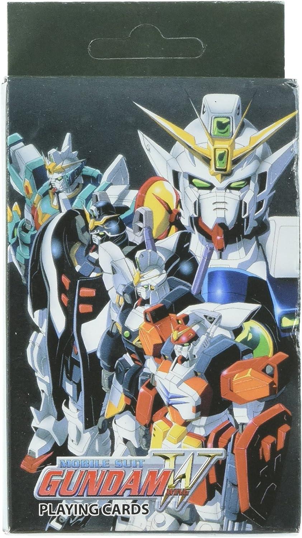 Gundam Wing Playing Cards
