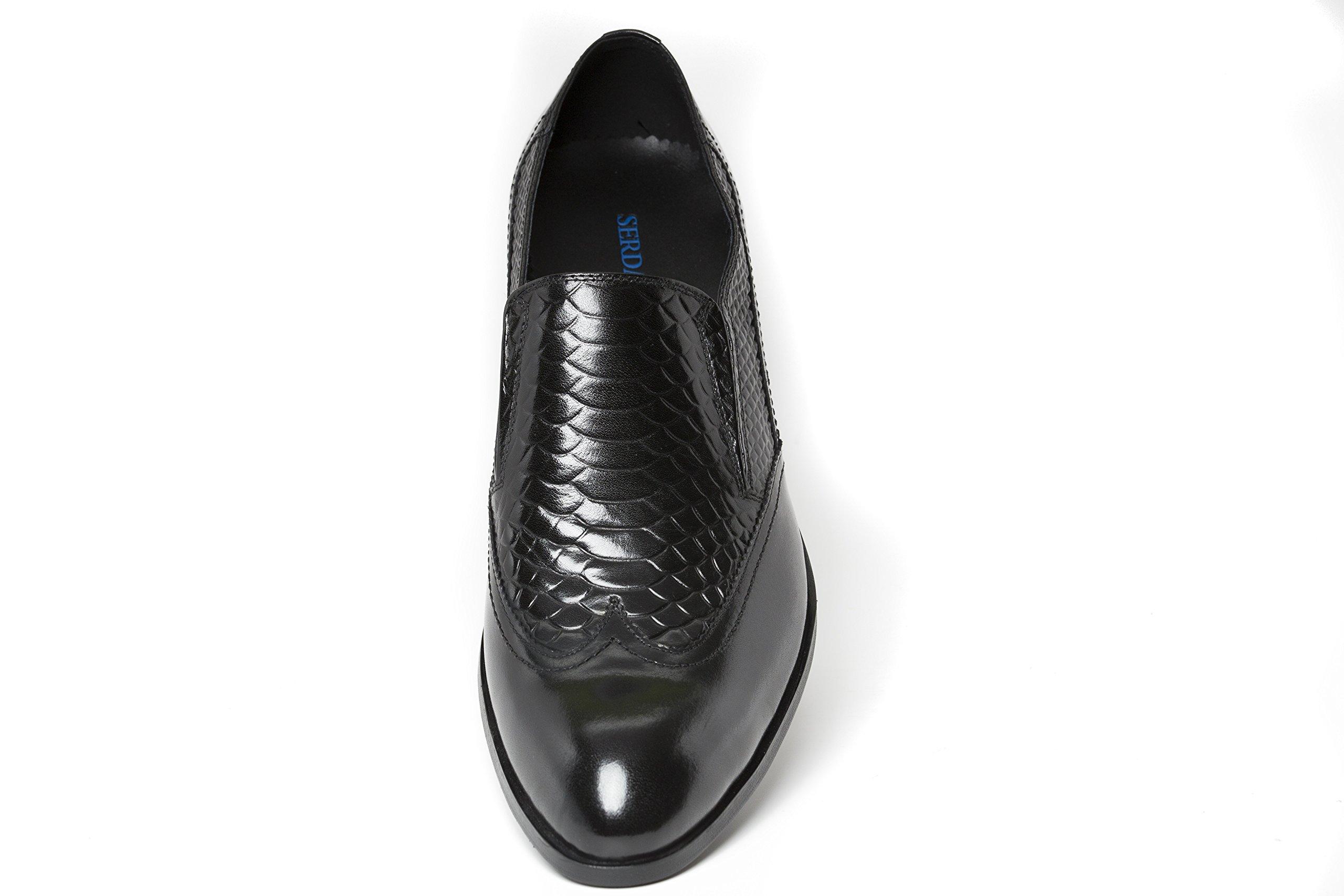 Aquila (Liam Michael Family of Shoes) (9, Black) by Liam Michael Shoes