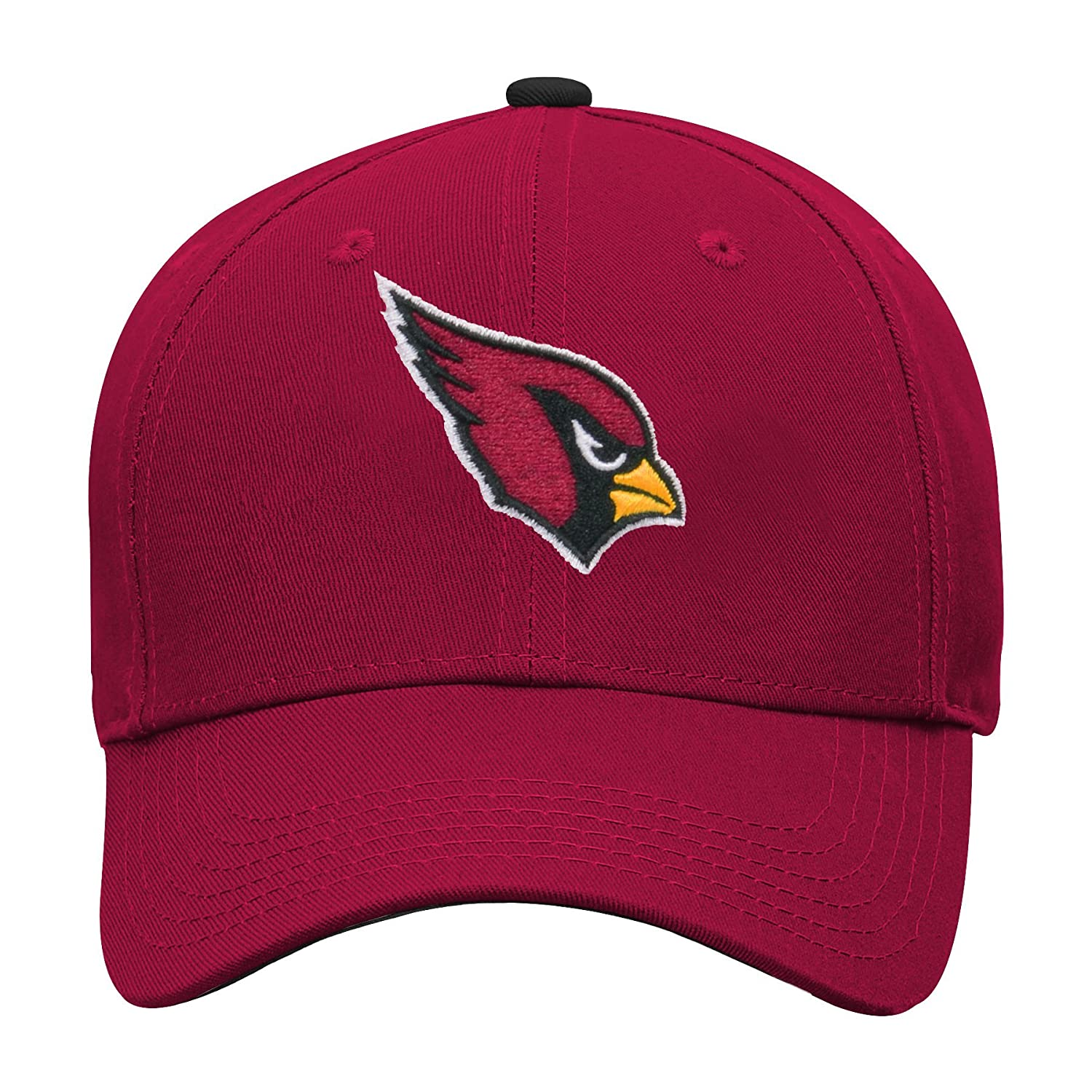Outerstuff NFL Boys Arizona Cardinals Kids /& Youth Boys Structured Adjustable Hat
