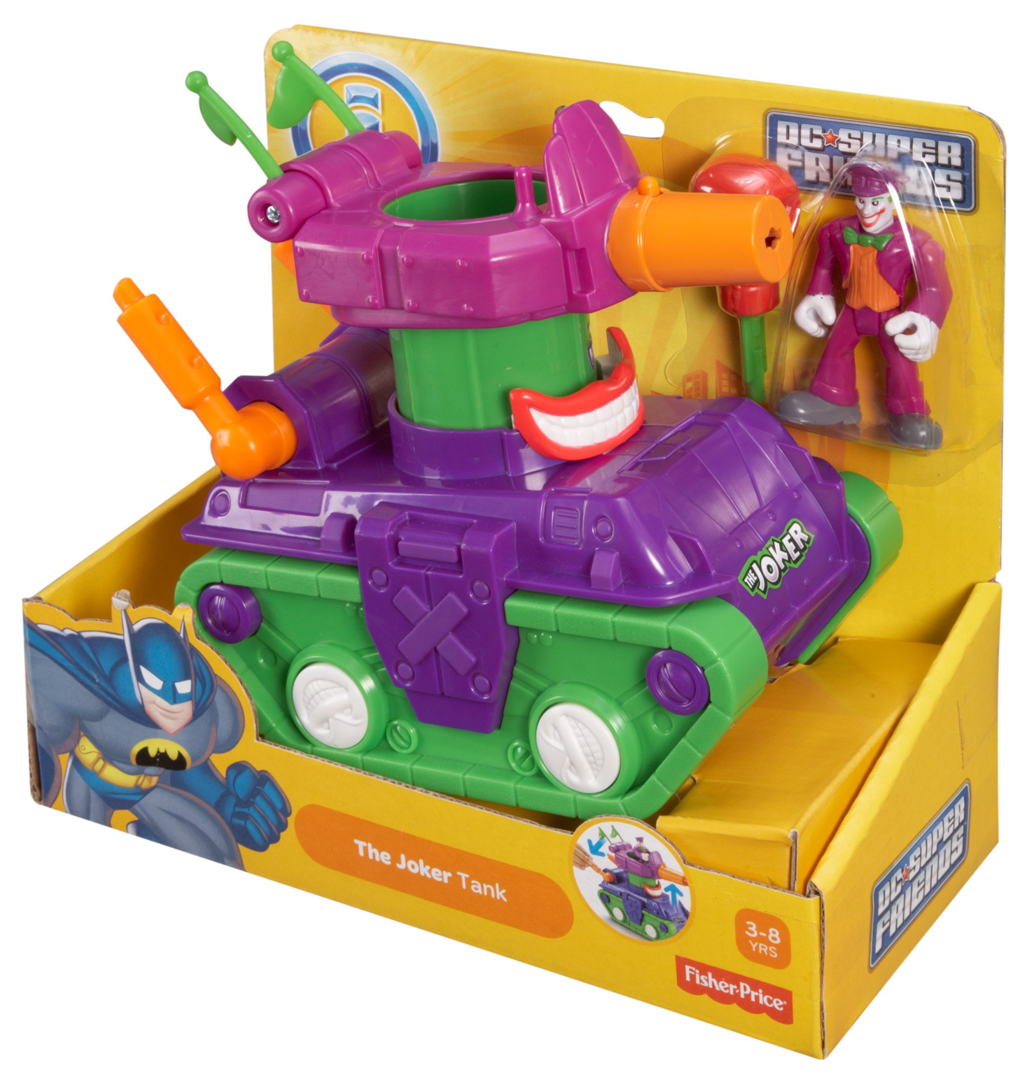 Fisher-Price Imaginext DC Super Friends, Joker Tank by Fisher-Price (Image #8)