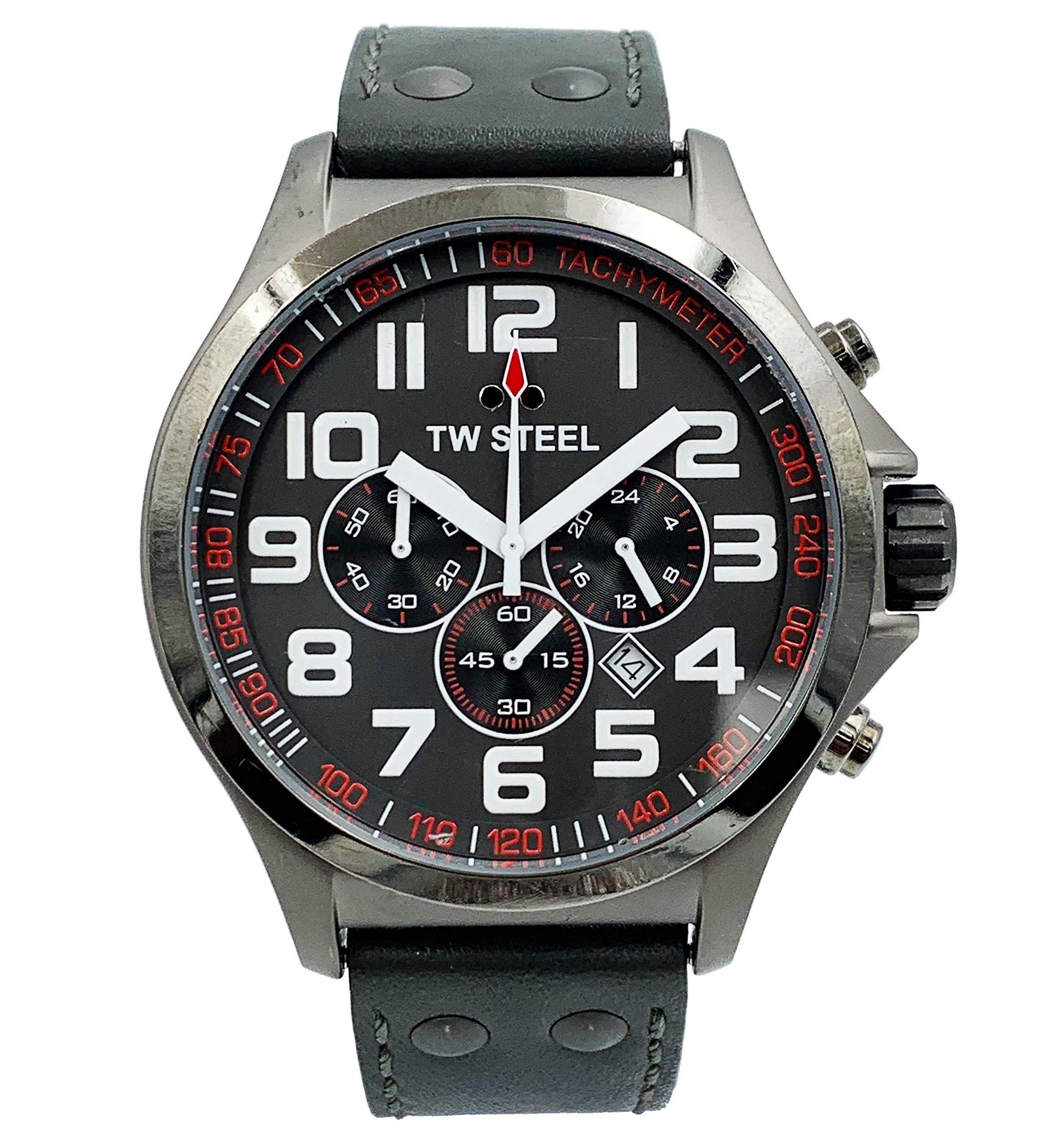 TW Steel Pilot Quartz Male Watch TW422 (Certified Pre-Owned)