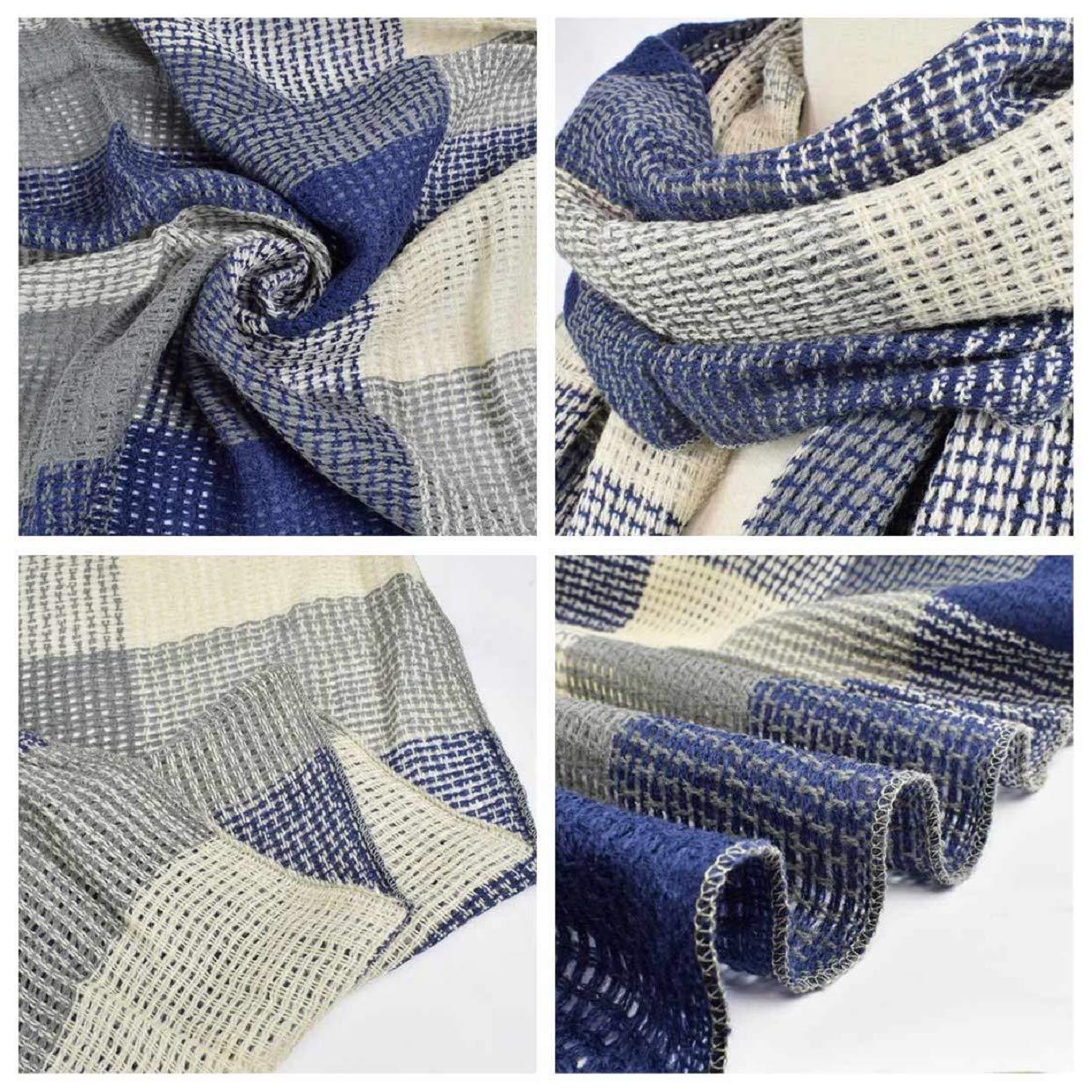 Tuopuda Sciarpa Donna Inverno Caldo Scozzese Classico Sciarpa Moda Morbido Scialle Invernale Sciarpa Donna