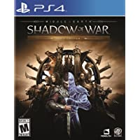 Middle-Earth: Shadow Of War Gold Edition for PlayStation 4 by Warner Home Video