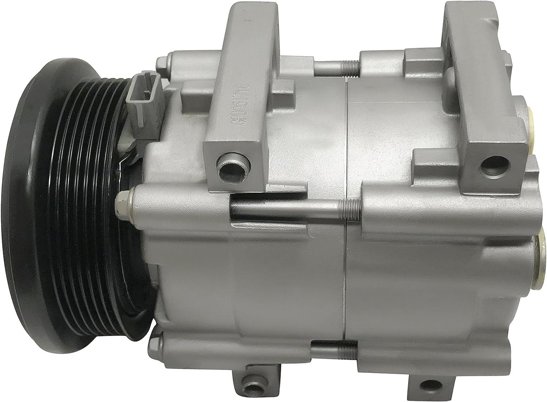 RYC Remanufactured AC Compressor and A//C Clutch EG140