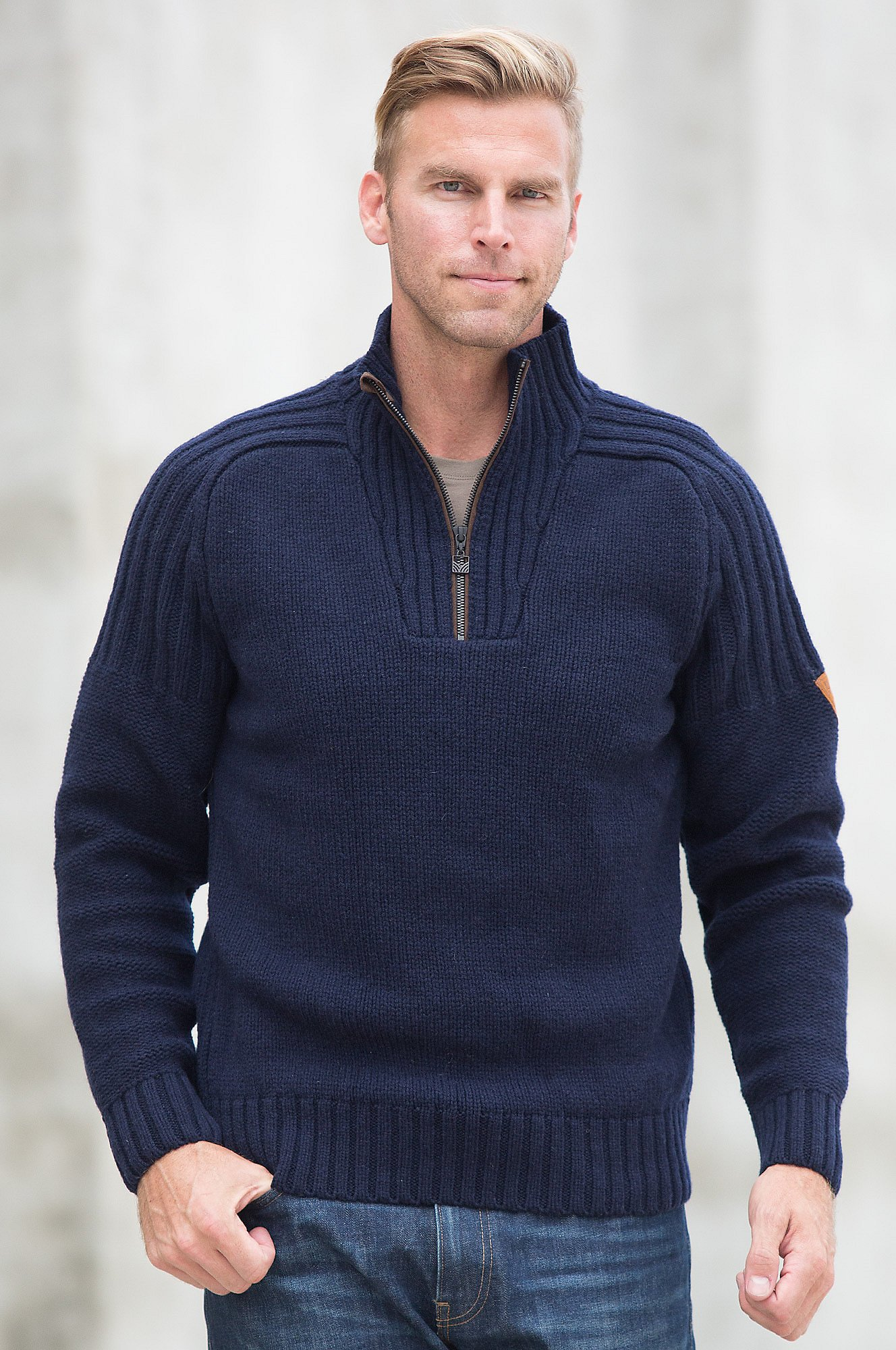 Dale of Norway Men's Ulv Sweater Navy X-Large by Dale of Norway (Image #3)