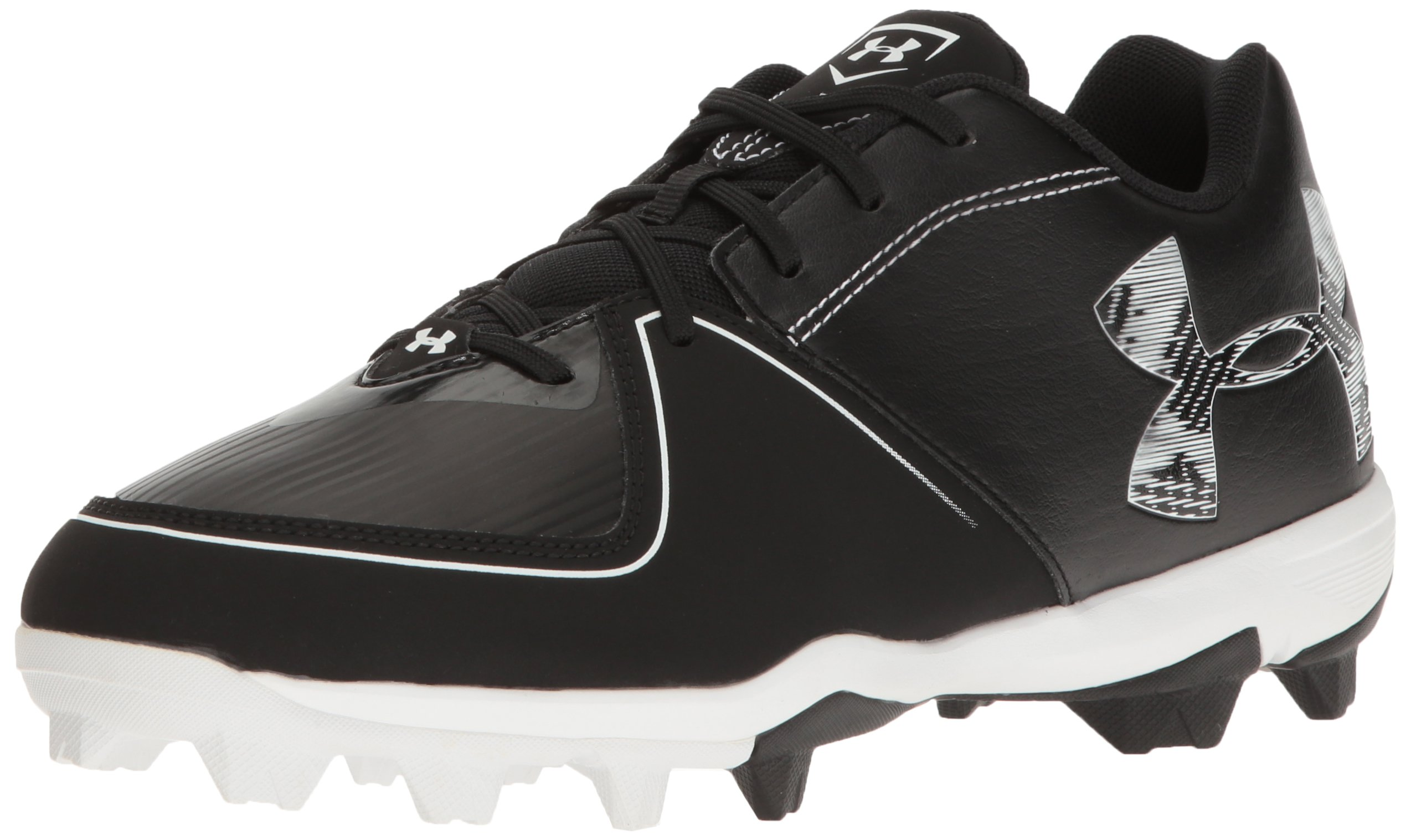 Under Armour Men's Glyde RM Softball Shoe, 001/Black, 9.5 by Under Armour