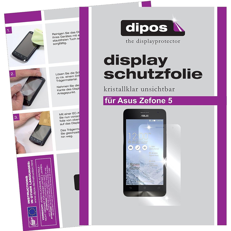 dipos Asus ZenFone 5 Schutzfolie kristallklare Amazon puter & Zubehör