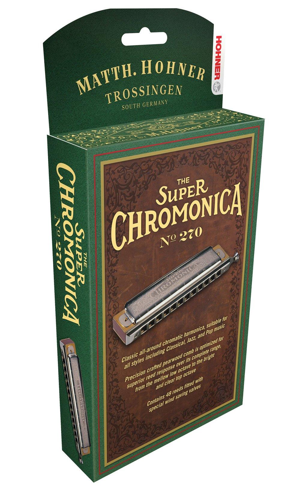 Hohner 270BX-E Super Chromonica, Key Of E Major