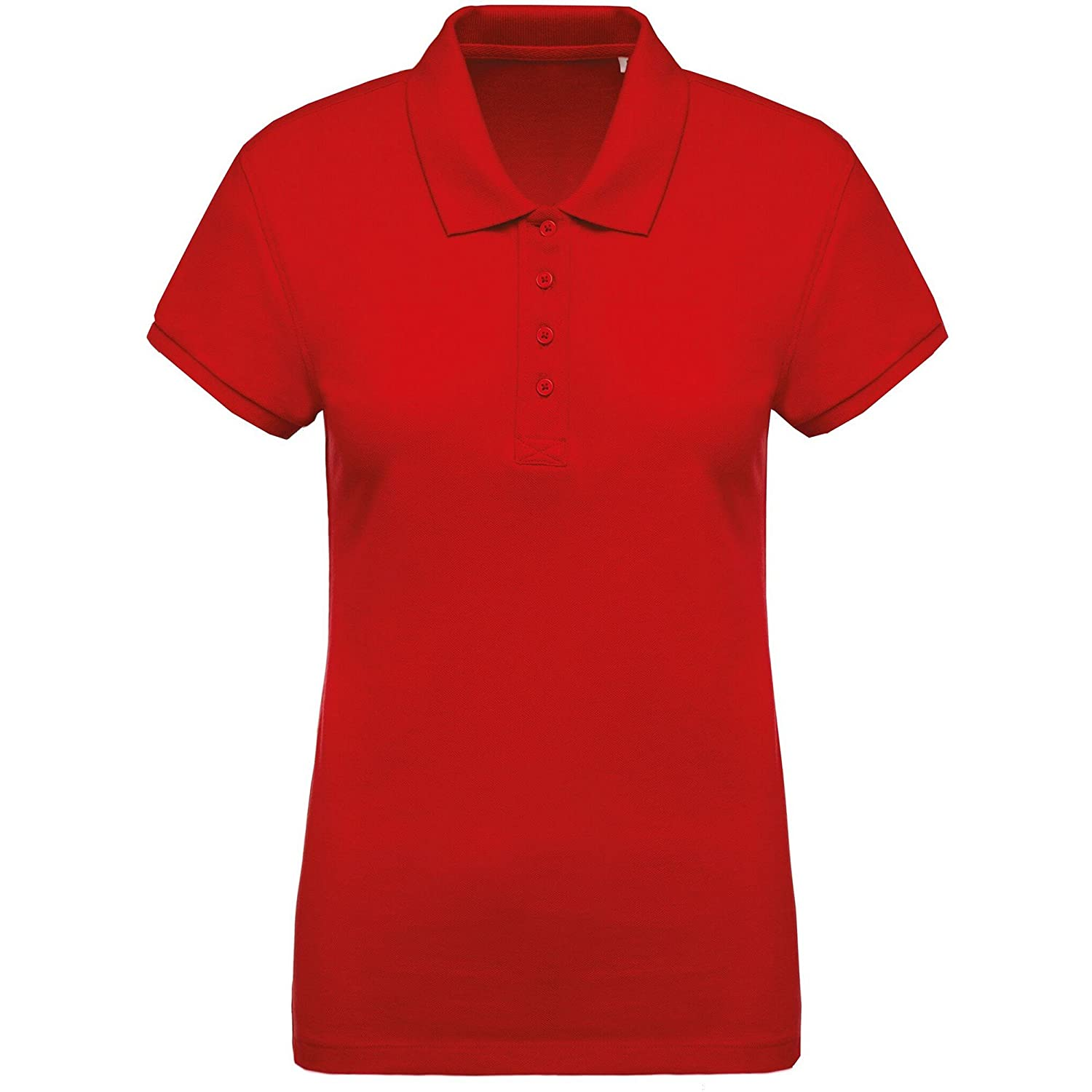 Kariban Polo in Pique con Cotone Biologico Donna