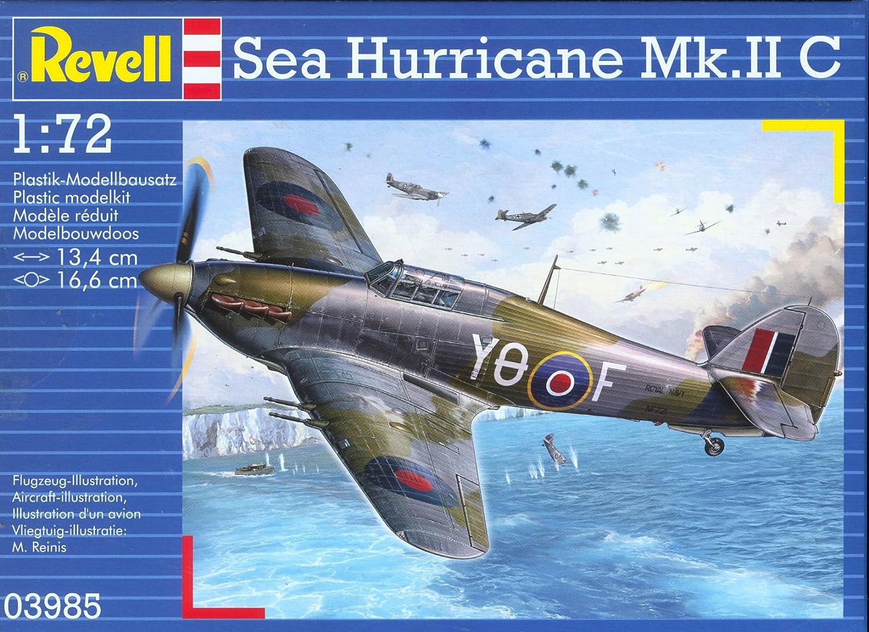 Revell of Germany Sea Hurricane Mk II Plastic Model Kit Revell CA 80-3985