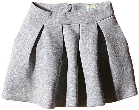 b765981bfba Yumi Girl s Neoprene Box Pleat Skirt