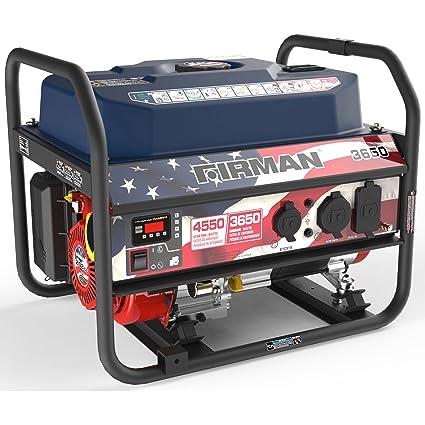 Amazon.com: Firman PO3611 generador de 3650/4550 Watt serie ...